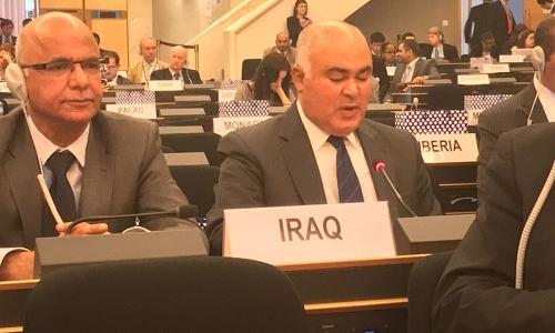 الممثل الدائم يلقي بيان جمهورية العراق في اللجنة التحضيرية الثانية لمعاهدة NPT